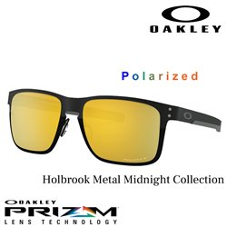 Holbrook Metal Matte Black / Prizm 24k Polarized