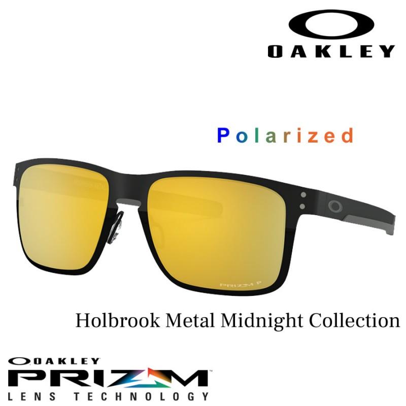 1ae8072de60 Sunglasses Oakley Holbrook Metal Matte Black / Prizm 24k Polarized