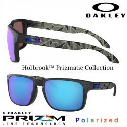 Holbrook Matte Black / Prizm Sapphire Polarized