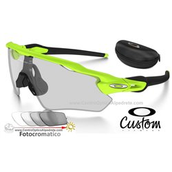 Radar EV Custom Path Retina / Clear Black Iridium Photochromic (OO9208-7659)