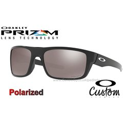 6dcefe92e3e Drop Point Custom Polished Black   Prizm Black Polarized (OO9367-7670)