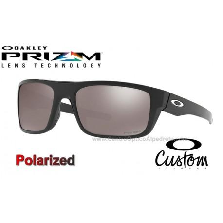 Drop Point Custom Polished Black / Prizm Black Polarized (OO9367-7670)