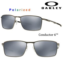 Oakley Conductor 6 Lead / Black Iridium Polarized