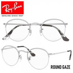 Gafas para graduado Ray-Ban Round Gaze - Silver