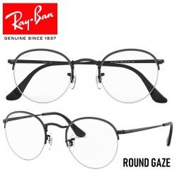 Gafas para graduado Ray-Ban Round Gaze - Shiny Black