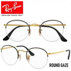 Gafas para graduado Ray-Ban Round Gaze - Gold / Black