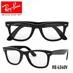 Gafas para graduado Ray-Ban Wayfarer Ease - Shiny Black