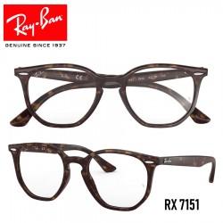 Gafas para graduado Ray-Ban Hexagonal - Havana