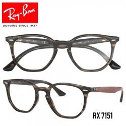 Gafas para graduado Ray-Ban Hexagonal - Havana Green