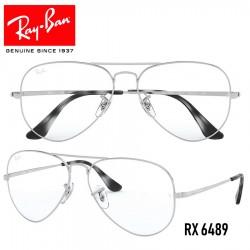 Gafas para graduado Ray-Ban Aviator - Silver