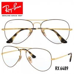 Gafas para graduado Ray-Ban Aviator - Gold / Havana