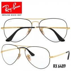 Gafas para graduado Ray-Ban Aviator - Gold / Black