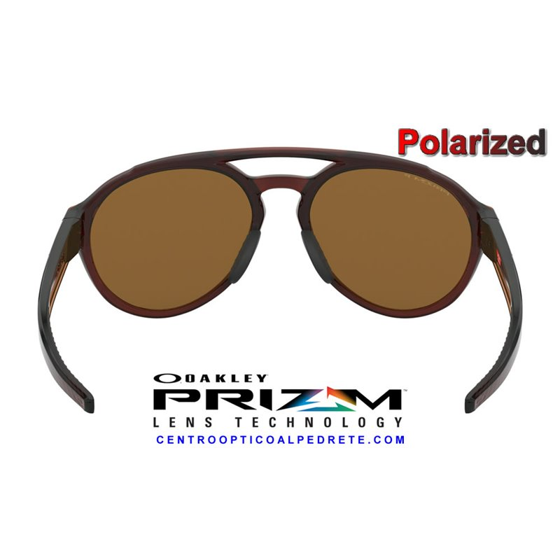 48d95776272 ... Forager Polished RootBeer   Prizm 24K Polarized (OO9421-05) ...