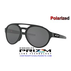 Forager Matte Black / Prizm Black Polarized (OO9421-08)