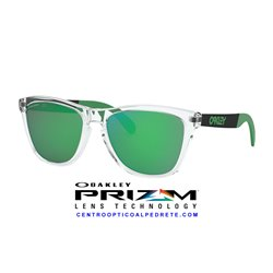 Frogskins Mix Polished Clear / Prizm Jade (OO9428-04)