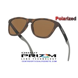 Frogskins Mix Matte Brown Tortoise / Prizm Tungsten Polarized (OO9428-08)