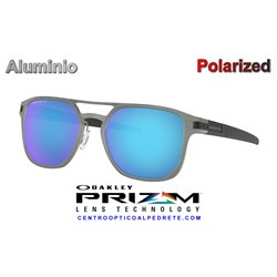 Latch Alpha Matte Light GunMetal / Prizm Sapphire Polarized (OO4128-04)