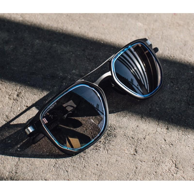 9f35065e80b6 Sunglasses Oakley Latch Alpha Matte Black / Prizm Grey (OO4128-06)