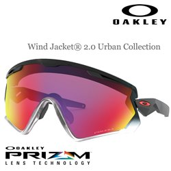 WindJacket 2.0 Polished Black / Prizm Road (OO9418-12)