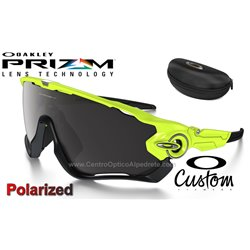 Jawbreaker Custom Retina Burn / Prizm Black Polarized (OO9290-7790)