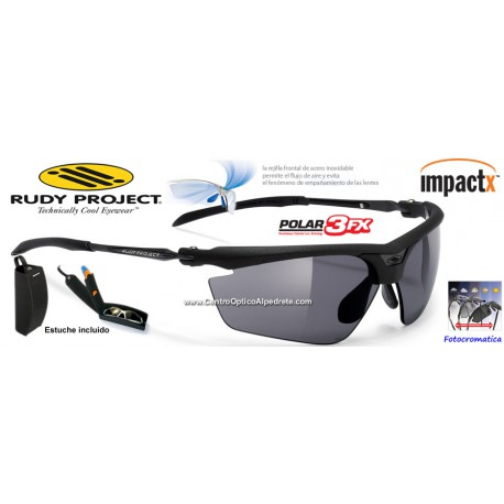Magster Matte Black / Grey Photochromic Polarized ImpactX (SN668606)