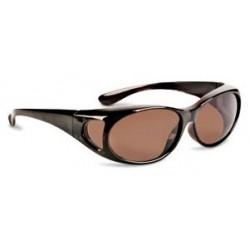 Overlapping Glasses Havana/Brown Polarized