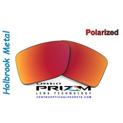 Holbrook Metal Lente Prizm Ruby Polarized (OO4123-12LP)