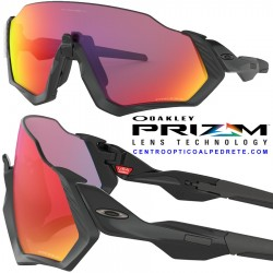 Flight Jacket Matte Black / Prizm Road (OO9401-01)