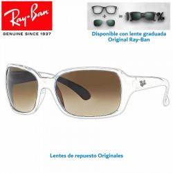Lentes de repuesto Ray-Ban RB-4068 HighStreet Lente Crystal Brown Gradient (RB4068-710/51)