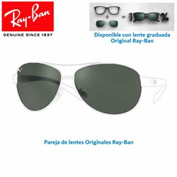 Lentes de repuesto Ray-Ban RB3386 / Lente Green (RB3386-004/71)