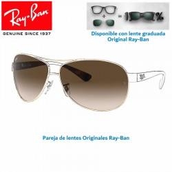 Lentes de repuesto Ray-Ban RB3386 / Lente Brown Gradient (RB3386-001/13)