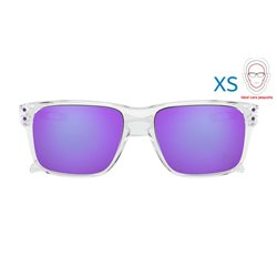 Holbrook XS Polished Clear / Violet Iridium (OJ9007-02)