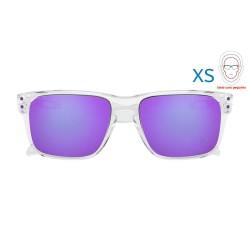 Holbrook XS Polished Clear / Violet Iridium (OJ9007-02)