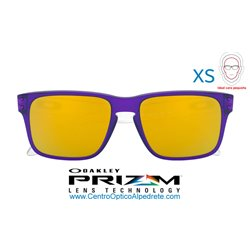 Holbrook XS Translucent Purple / 24K Iridium (OJ9007-06)