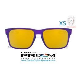 Holbrook XS Translucent Purple / 24K Iridium (OJ9007-06)
