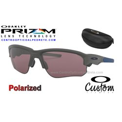 Flak Draft Custom Matte Dark Grey / Prizm Daily Polarized (OO9364-7909)