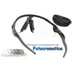 Radar EV Advancer Matte Black / Clear Black Iridium Photochromic (OO9442-06)