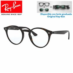 Glasses for graduate Ray-Ban Dark Havana (RX2180V-2012)