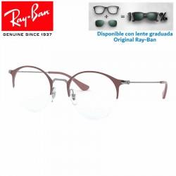 Gafas para graduado Ray-Ban GunMetal/Turtledove (RX3578V-2907)