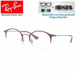 Ray-Ban GunMetal/Turtledove Graduate Glasses (RX3578V-2907)