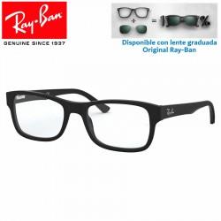 Gafas para graduado Ray-Ban Matte Black (RX5268-5119)