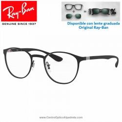 Gafas para graduado Ray-Ban Matte Black (RX6355-2503)