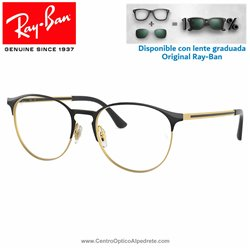 Ray-Ban Matte Black Graduate Glasses (RX6375-2890)
