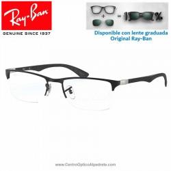 Gafas para graduado Ray-Ban Matte Black (RX8413-2503)
