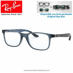 Ray-Ban Matte Blue Graduate Glasses (RX8903-5262)