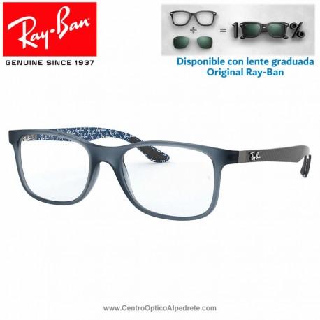 Ray-Ban Matte Blue Graduate Glasses (RX8903-5262)