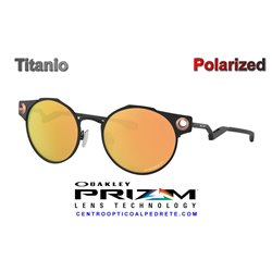 DeadBolt Satin Black / Prizm Rose Gold Polarized (OO6046-04)
