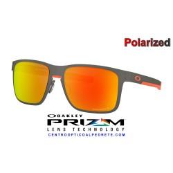 Holbrook Metal Matte Gunmetal / Prizm Ruby Polarized (OO4123-22)