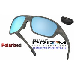 Split Shot WoodGrain / Prizm Deep Water Polarized (OO9416-16)