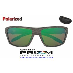 Split Shot Polished Black / Prizm Shallow Water Polarized (OO9416-05)